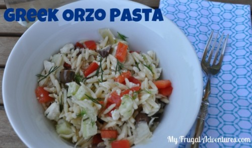Recipe: Greek Orzo Pasta