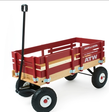 Radio Flyer All Terrain Wagon 100 My