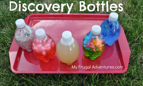 Children's Craft Idea: Sensory or Discovery Bottles