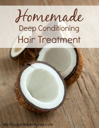 Homemade deep conditioner for hair- so easy and just one ingredient!
