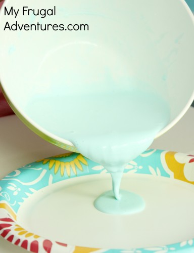 Homemade oobleck recipe