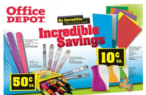 Office Depot, Inc. is a resource and a catalyst to help customers work better. We are a single source for everything customers need to be more productive, including the latest technology, core office supplies, facilities products, furniture, and school essentials.