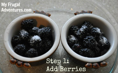 5 Minute Blackberry Cobbler Recipe