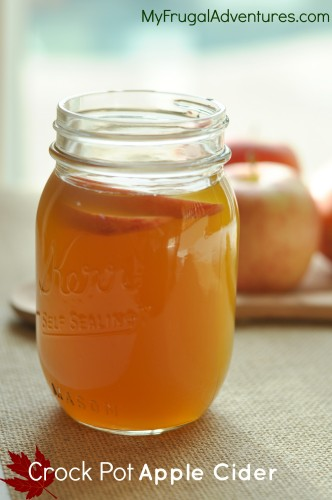 crock pot apple cider