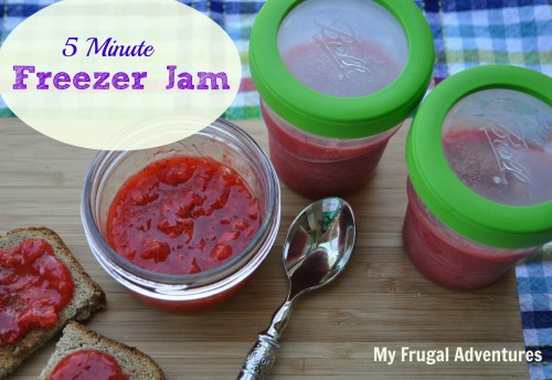 5 Minute Freezer Jam Recipe