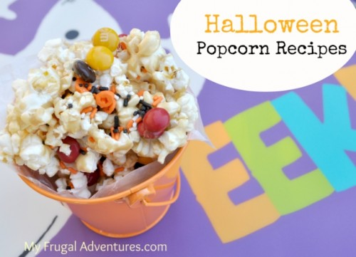 Halloween Popcorn Three Ways