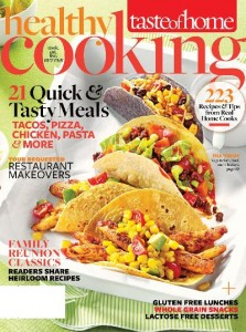 Healthy cooking magazine 899year my frugal adventures healthy cooking magazine from taste of home is a really great magazine for yummy recipes this magazine is published seasonally so you get 4 issues packed forumfinder Gallery