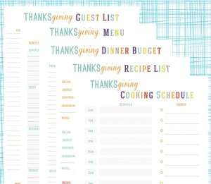 image regarding Thanksgiving Planner Printable identified as No cost Thanksgiving Planner Printables - My Frugal Adventures