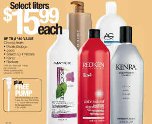ulta salon brand shampoo liters 12 49 or less my frugal adventures