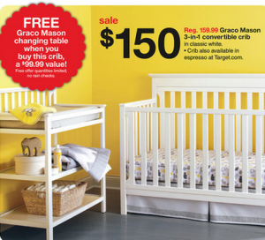 There Is A Really Great Deal This Week On A Crib From Target.