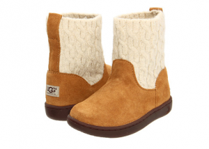 There are some nice deals on children's Ugg boots today and the shipping is free. The prices start at $39.90.