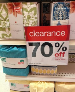 Attrayant In Addition To All The Valentineu0027s Day Clearance, Target Has All The Bulk  Items On Clearance As Well As 70% Off In Bedding And Kitchen At My Store.