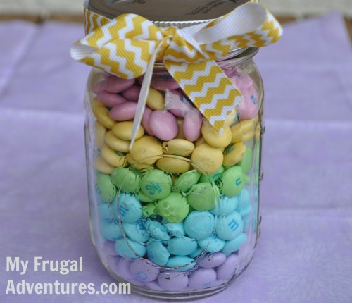 Simple easter gift idea mason jar candy my frugal adventures simple easter gift idea mason jar candy negle Image collections