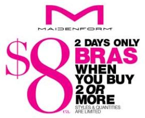 Maidenform bra sale my frugal adventures for Maidenform t shirt bra sale