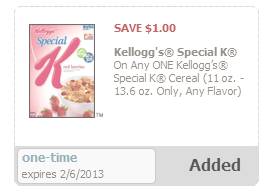 special k Safeway: Special K Cereal as low as $.35