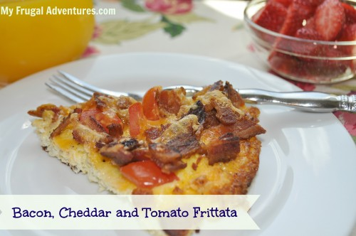 Bacon, Tomato and Cheese Frittata Recipe