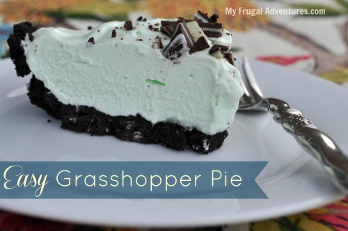 Easy Grasshopper Pie Recipe