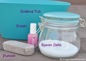 Easy DIY Pedicure