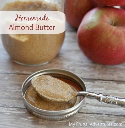 Easy Homemade Almond Butter {Healthy & Delicious}