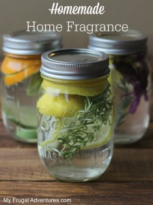Homemade Home Fragrance- just like a William's Sonoma Store!