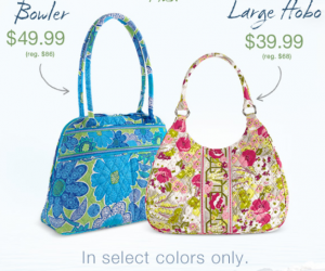 Here Are A Few S Available Today From Vera Bradley Through April 11th