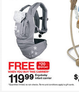 Target Ergo Baby Carrier As Low As 76 My Frugal Adventures