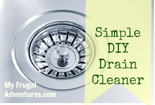 Simple Homemade Drain Cleaner