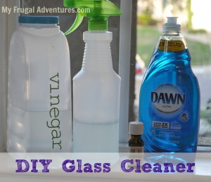 glass cleaner DIY