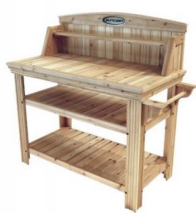 Suncast Cedar Potting Table 159 Shipped My Frugal