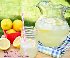 Best Ever Homemade Lemonade Recipe from My Frugal Adventures