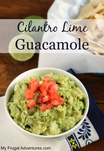 Cilantro Lime Guacamole Recipe