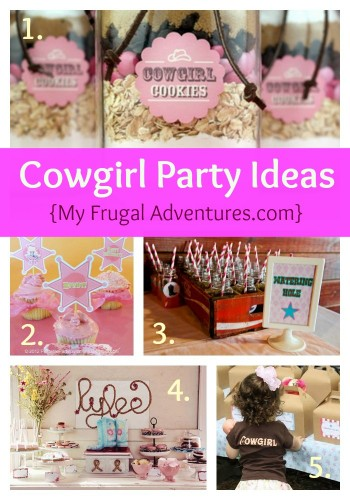Children's Party Idea: Cowgirl Birthday Party