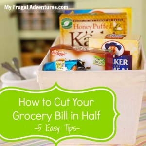 Easy Tips to Cut Your Grocery Bill
