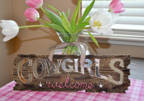 Childrens Party Idea Cowgirl Birthday