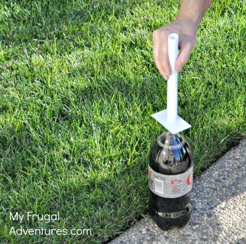 Exploding Diet Soda Geyser {Fun Kid's Activity!}