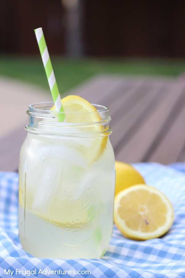 Perfect fresh squeezed lemonade