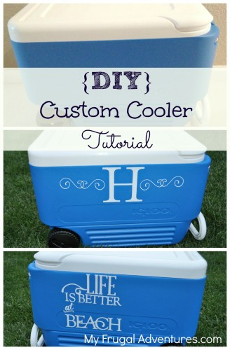 Simple DIY Custom Cooler Tutorial