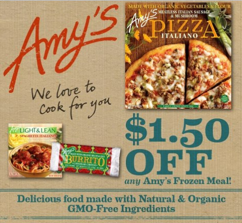 Amy's coupons