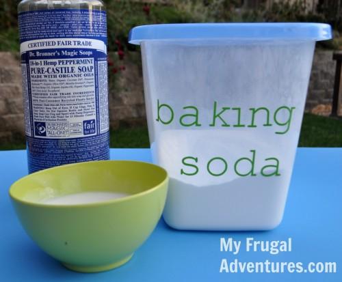Easy Homemade Soft Scrub Cleanser