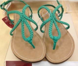 2448d8129505 Target  Merona Sandals  7.00 Starting May 5th - My Frugal Adventures