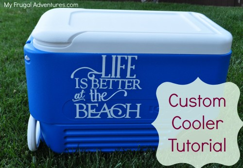 Easy Ice Chest Makeover