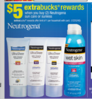 CVS: Get Free Neutrogena Sunscreen - My Frugal Adventures