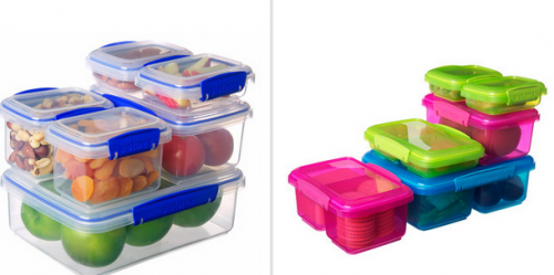 sistema food storage containers