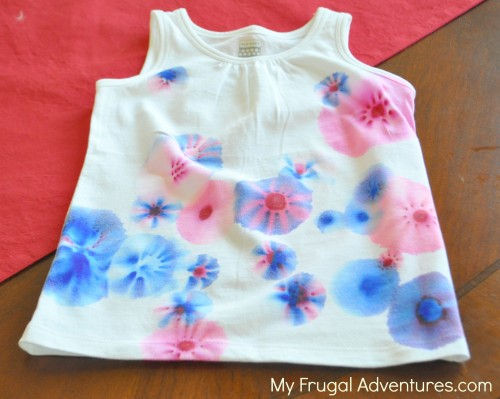 DIY 4th of July T-Shirts (Sharpie Tie-Dye)