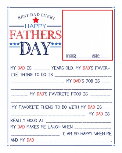 Father's Day Questionaire_2013