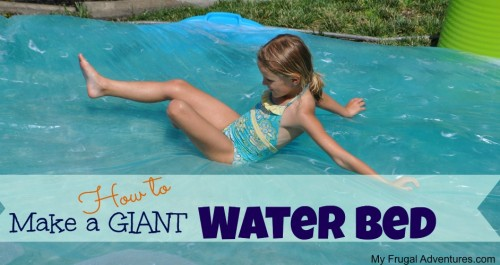 How to make a giant water bed