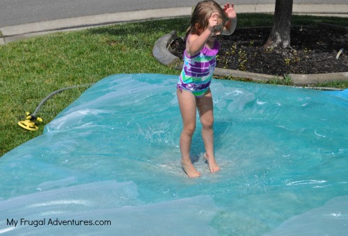 How to make a water bed for kids