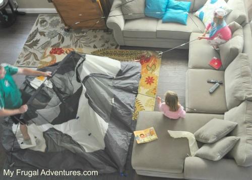 Fun Indoor Camping Party Ideas