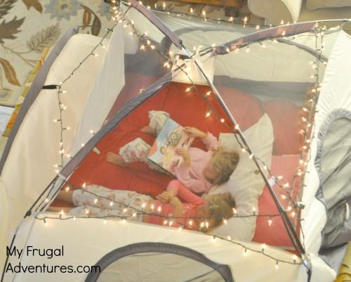 Fun Indoor C&ing Party Ideas & Fun Indoor Camping Party Ideas - My Frugal Adventures