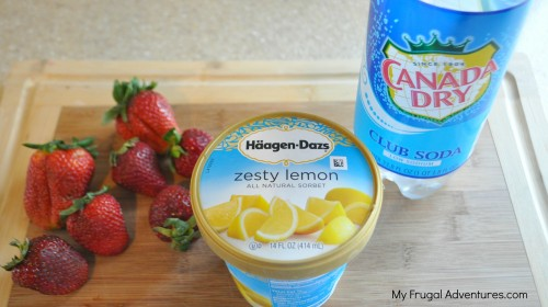 30 Days to a Funner Summer: Strawberry Lemon Slushie